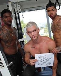 Jay Dymel, Knockout And Leon Redd